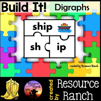 Digraphs Activity Puzzle Center
