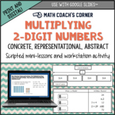 Multiplication: 2-Digit by 1-Digit (Concrete, Representational, Abstract)