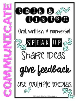 Teaching 21st Century Skills (4-8): Posters & Student Booklet