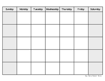 Teaching About Calendars and Activity Sheets