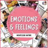 EMOTIONS AND FEELINGS 3 PART CARDS MONTESSORI INSPIRED PRINTABLE