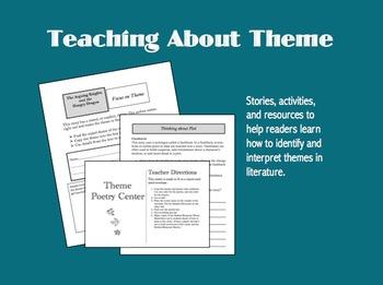 teaching about theme by emily kissner teachers pay teachers