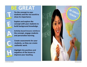 "Teaching Acronym ""Teach"""