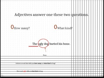 Teaching Adjectives PowerPoint