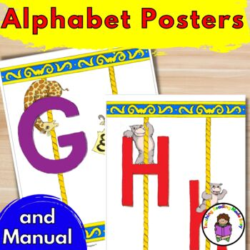 Alphabet Posters (and Alphabet Teacher's Manual)