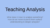 Teaching Analysis Powerpoint
