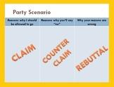 Argument: Claim, Counterclaim, & Rebuttal PowerPoint Lesson