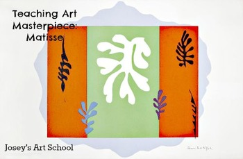Art Lessons Teach Matisse to Grades K-3 The Dancer Art History and Lesson