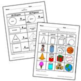 Teaching Art To Children - Elements Of Art  2D Shapes Vs.
