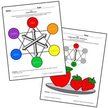 Teaching Art To Children - Elements Of Art Complementary C