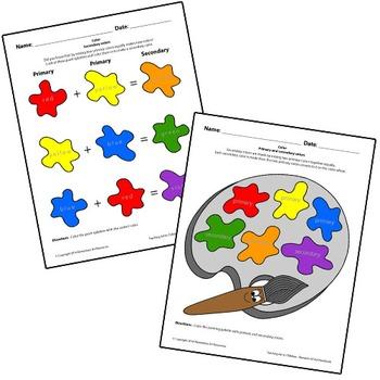 Teaching Art To Children - Elements Of Art Mixing Secondar
