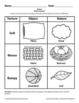 Teaching Art To Children - Elements Of Art, Texture, What is texture?