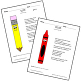 Teaching Art To Children - How to use art supplies Pencil And Crayon Poem
