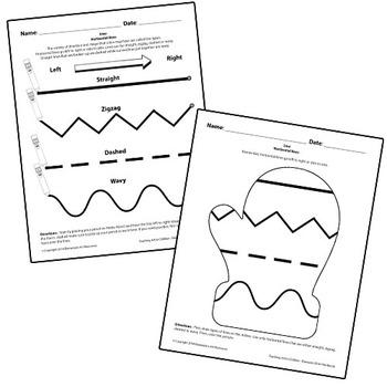 Teaching Art To Children - Tracing Horizontal Lines Worksheet Elements Of Art
