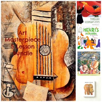 Teaching Art with the Masters 5 Lesson Bundle