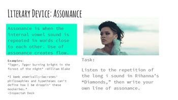 "Teaching Assonance through Music Rihanna's ""Diamonds"""