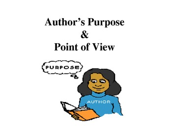 COMMON CORE-Teaching Author's Purpose and Perspective Powerpoint