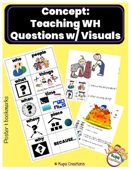 Teaching Basic Wh Questions with Visuals