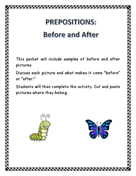 Teaching Before and After