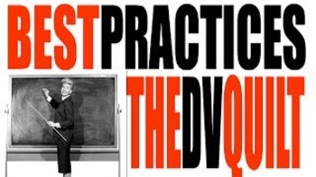 Teaching Best Practices: The DV Quilt
