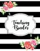 Teaching Binder Bundle
