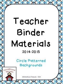 Teaching Binder: Circles Design