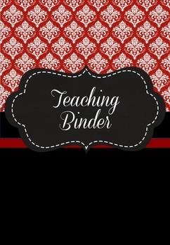 Teaching Binder - Damask Australian Edition