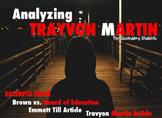 Trayvon Martin PARRC Aligned Worksheets