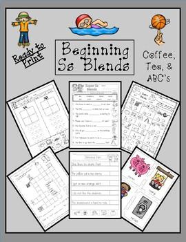 Teaching Blends: Learning the S Blends