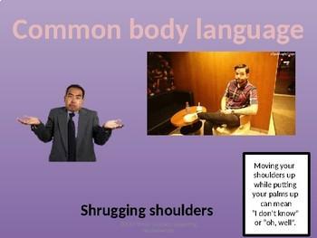 Teaching Body Language; Understanding Non-Verbal Communication