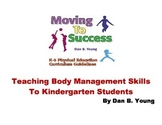 Teaching Body Management (gymnastics) to Kindergarten Students