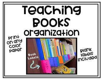 Teaching Books Organization