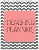 Teaching Calendar