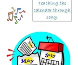 Teaching Calendar through Song