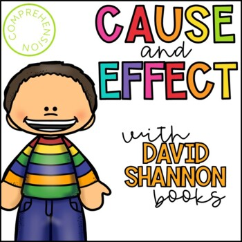 Teaching Cause and Effect with David Shannon Books