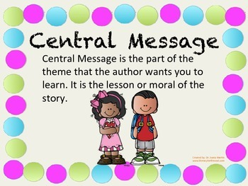 Teaching Central Message Made Simple! (primary)