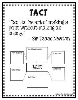 Teaching Character Traits with Mentor Sentences Interactive Notebook Pages