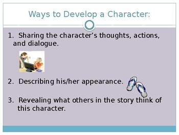Teaching Characterization and Irony