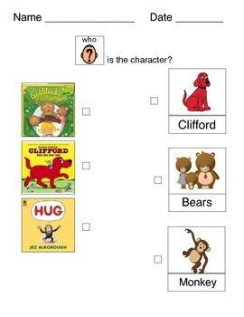 Teaching Characters - Three Levels!