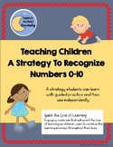 Teaching Children a Strategy to Recognize Numbers 0-10