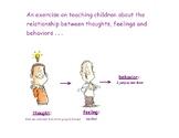 Teaching Children the Relationship between Thoughts, Feeli
