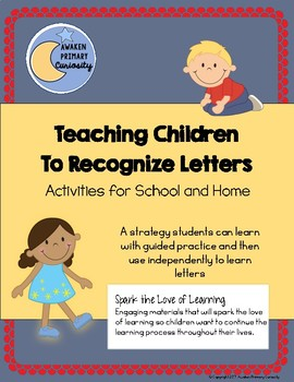 Teaching Children to Recognize Letters - Activities for School and Home
