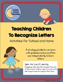 Teaching Children to Recognize Letters - Activities for Sc