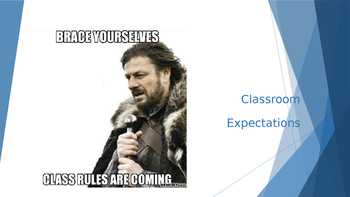 Teaching Classroom Expectations With Meme's