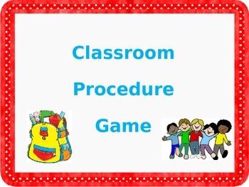 Teaching Classroom Procedures