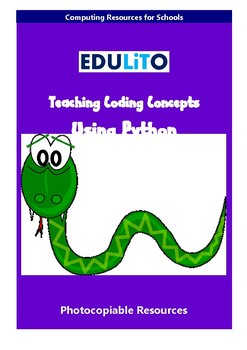 Teaching Coding Concepts Using the Python Programming Language
