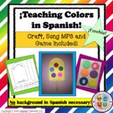 Teaching Colors in Spanish (Freebie!)