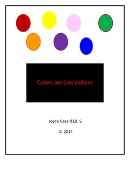 Teaching Colors, shape, and things