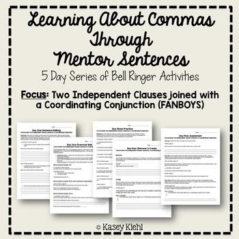 Teaching Commas Through Mentor Sentences: FANBOYS