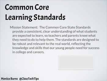 Teaching Common Core Math with iPads